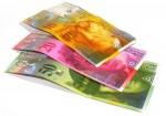 Banknoty szwajcarskiej waluty